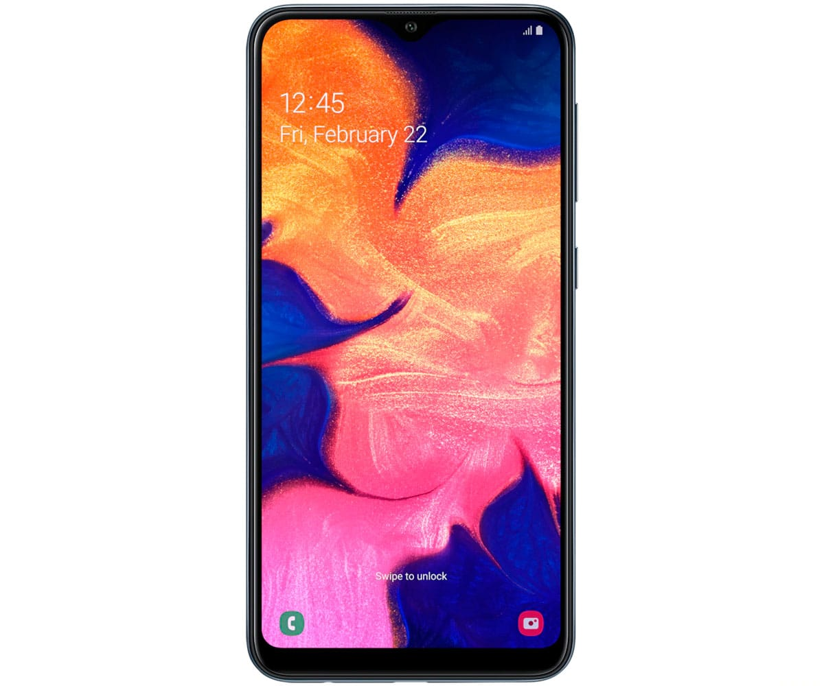 SAMSUNG GALAXY A10 NEGRO MÓVIL 4G DUAL SIM 6.2'' TFT LCD HD+/8CORE/32GB/2GB RAM/13MP/5MP