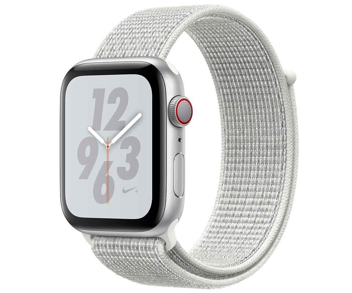 APPLE WATCH SERIES 4 CELL PLATA CON CORREA SPORT PLATA RELOJ 40MM SMARTWATCH 16GB WIFI BLUETOOTH GPS PANTALLA OLED