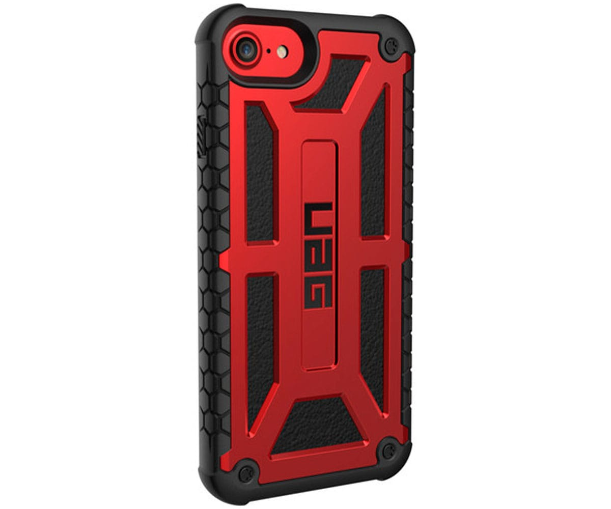 UAG MONARCH CRIMSON CARCASA APPLE IPHONE 7/8/6S RESISTENTE