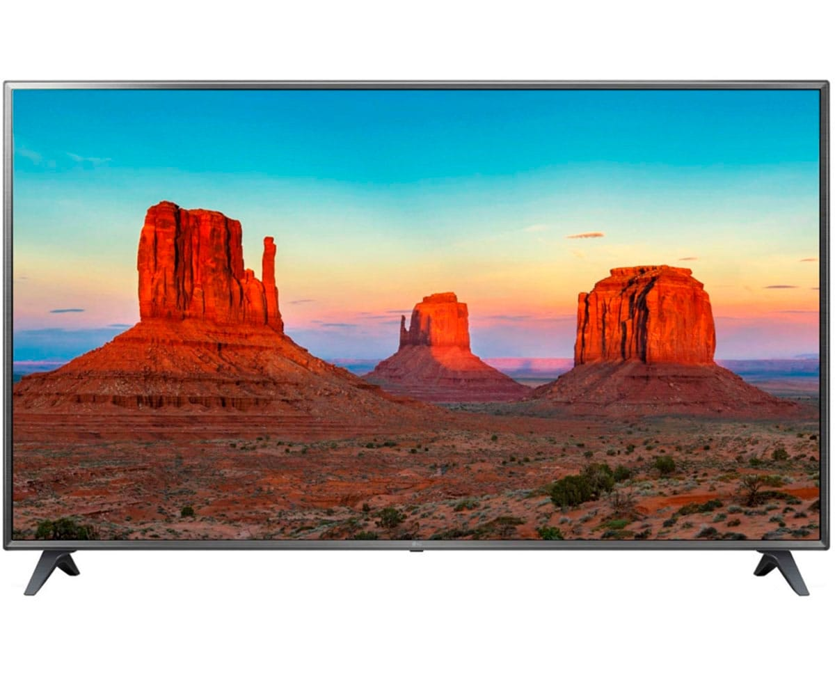 LG 75UK6200PLB TELEVISOR 75'' IPS LED UHD 4K 1600Hz SMART TV WEBOS 4.0 WIFI BLUETOOTH