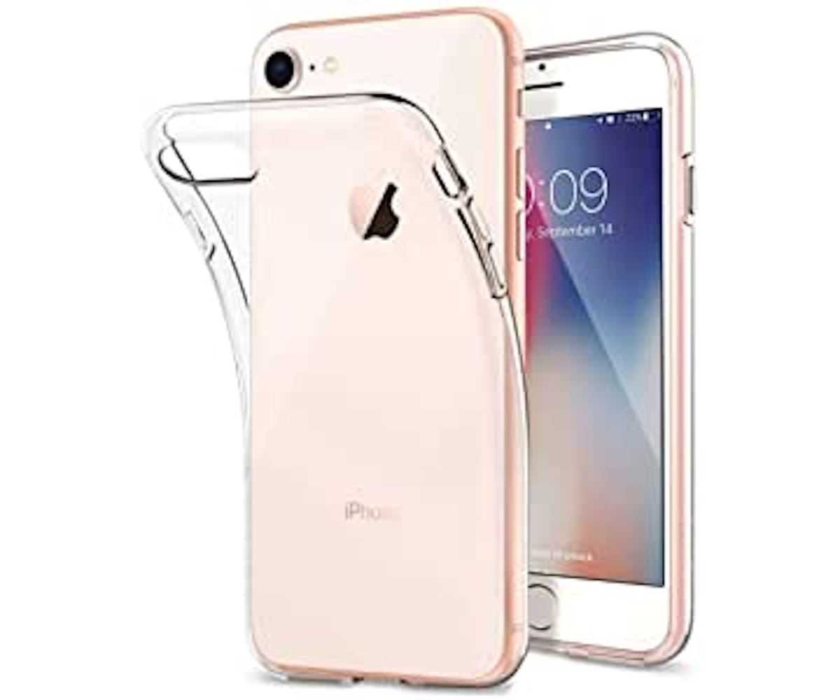 JC CARCASA TRANSPARENTE APPLE IPHONE 8/7/6S/6
