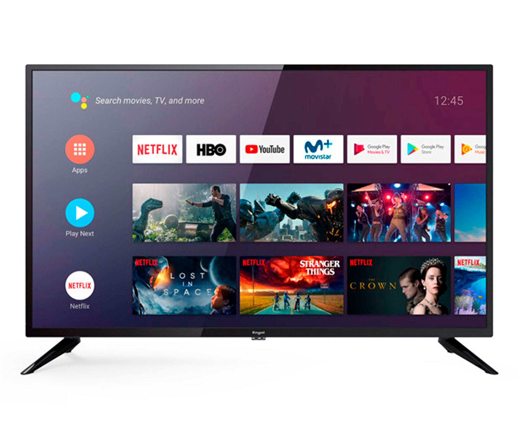 ENGEL 40LE4090ATV TELEVISOR 40'' IPS LED FULLHD WIFI HDMI USB ANDROID TV GOOGLE ASSISTANT CHROMECAST
