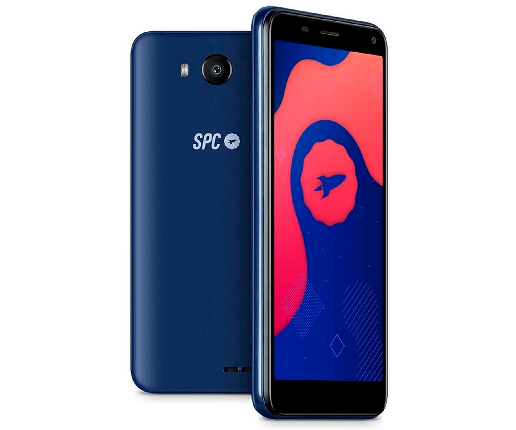 SPC SMART LITE AZUL MÓVIL 3G DUAL SIM 5'' FWVGA QUADCORE 16GB 1GB RAM CAM 5MP SELFIES 2MP