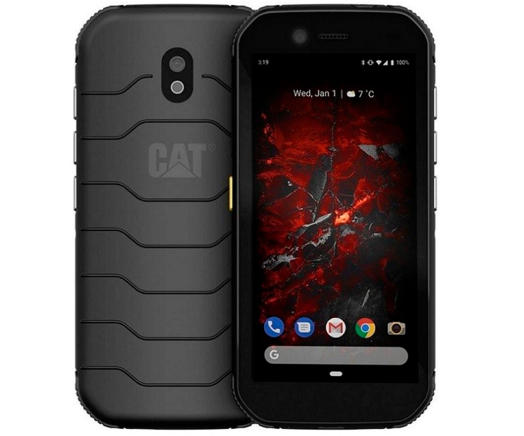 CAT S42 NEGRO MÓVIL RESISTENTE 4G DUAL SIM 5.5'' HD+ QUADCORE 32GB 3GB RAM CAM 13MP SELFIES 5MP