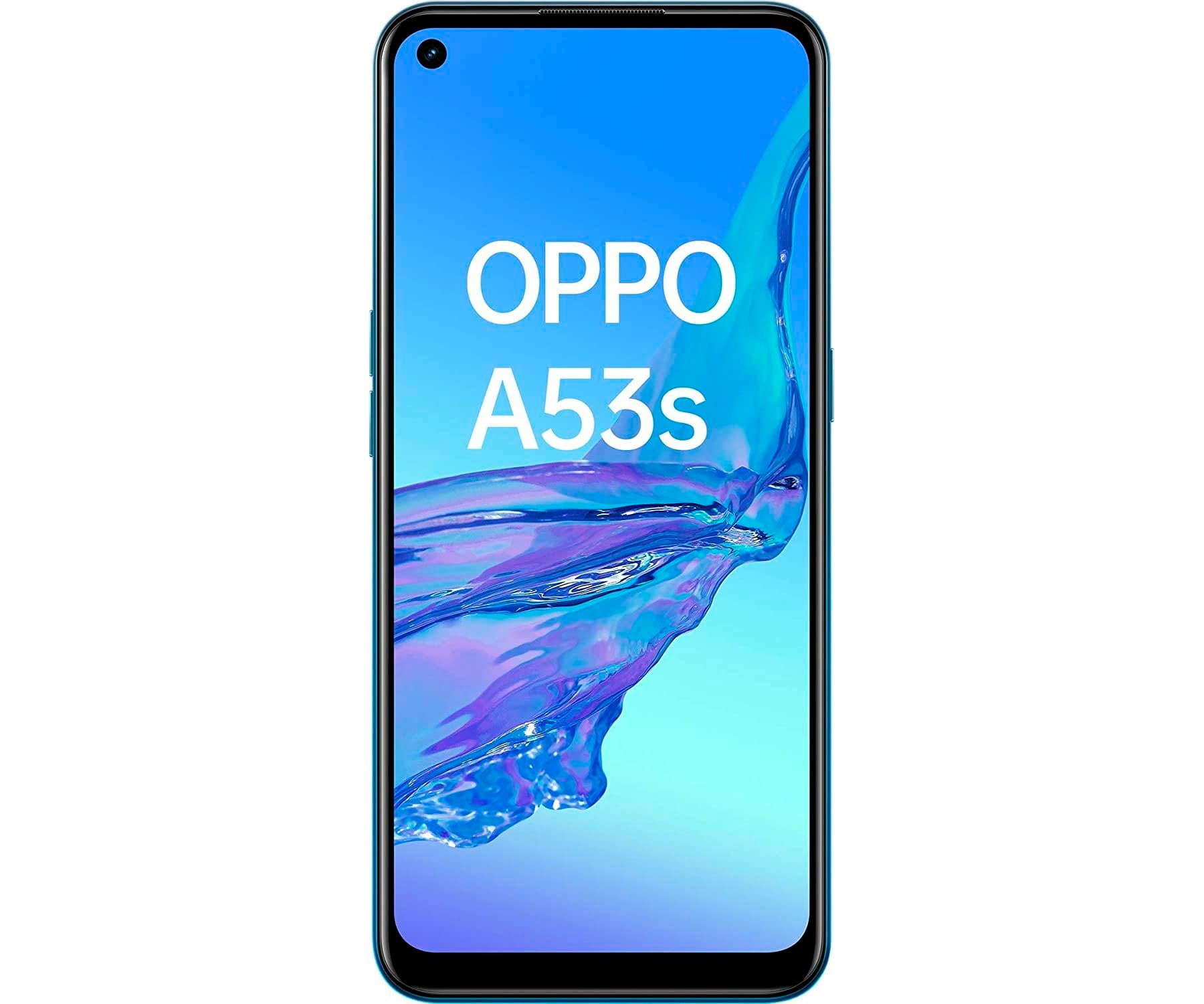 OPPO A53S AZUL MÓVIL DUAL SIM 4G 6.5'' IPS 90Hz HD+ OCTACORE 128GB 4GB RAM TRICAM 13MP SELFIES 16MP