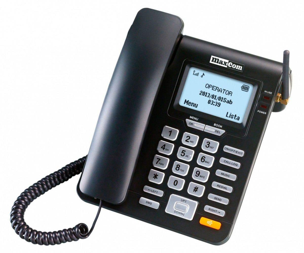 MAXCOM MM28D TELÉFONO SOBREMESA GSM - MM28D