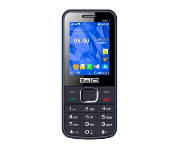 MAXCOM MM141 GRIS MÓVIL DUAL SIM / 2.4 / BLUETOOTH