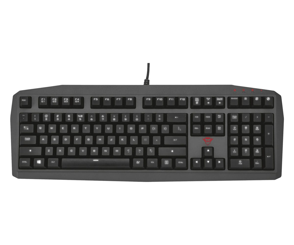 TRUST GXT 880 TECLADO MECÁNICO GAMING - GXT 880