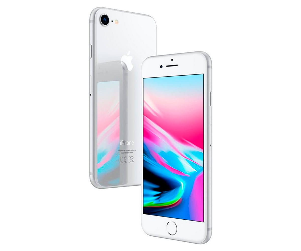 APPLE IPHONE 8 64GB PLATA REACONDICIONADO CPO MÓVIL 4G 4.7 RETINA HD/6CORE/64GB/2GB RAM/12MP/7MP