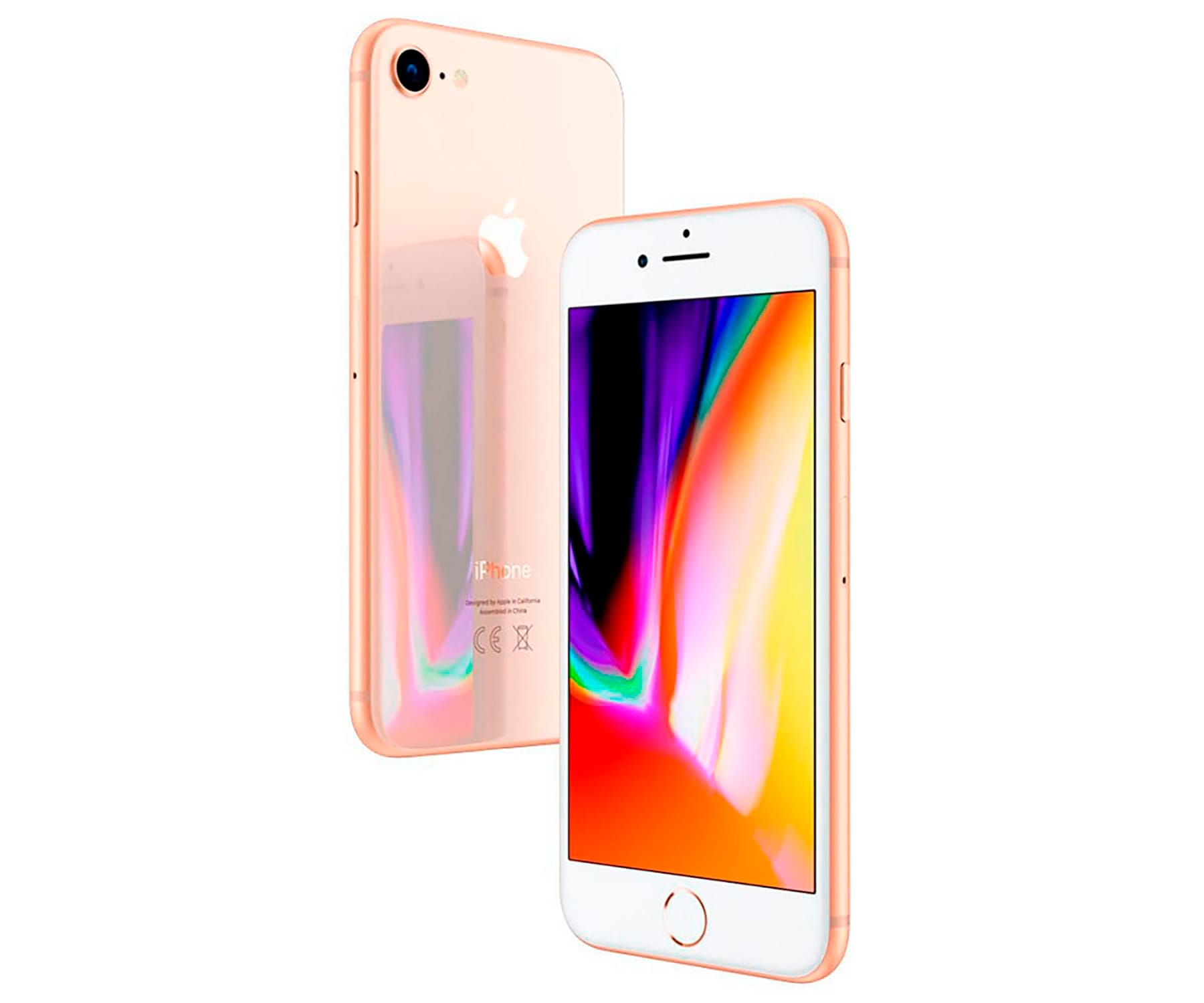 APPLE IPHONE 8 64GB ORO REACONDICIONADO CPO MÓVIL 4G 4.7 RETINA HD/6CORE/64GB/2GB RAM/12MP/7MP