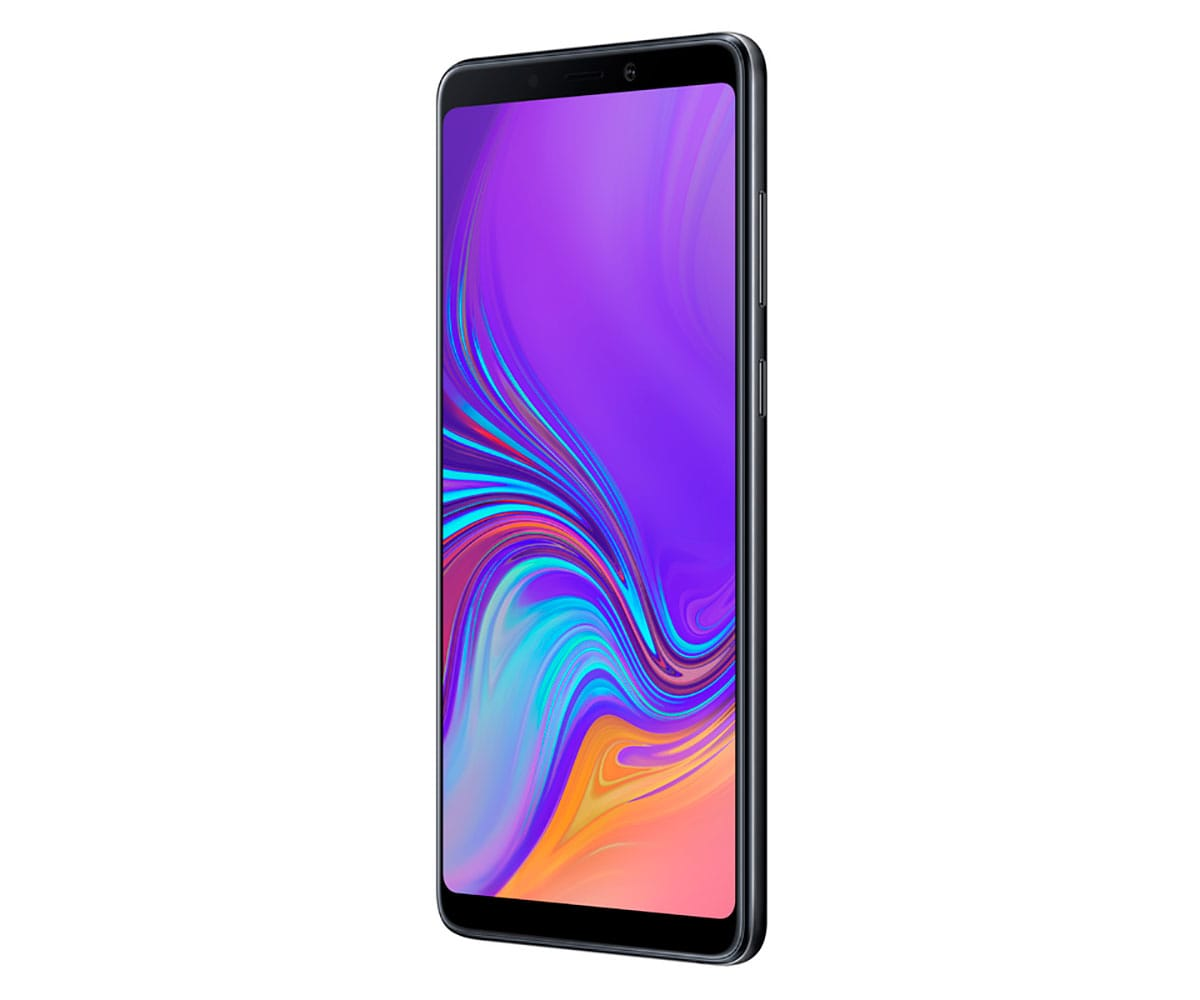 SAMSUNG GALAXY A9 NEGRO MÓVIL 4G DUAL SIM 6.3 SUPER AMOLED FHD+/8CORE/128GB/6GB RAM/24MP+10MP+5MP+ - A9 A920 DS NEGRO