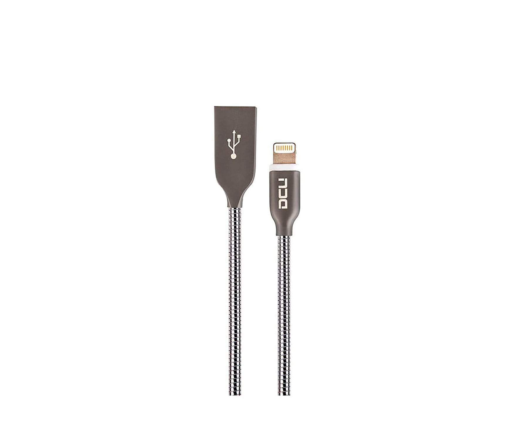 DCU CABLE PURE METAL USB A LIGHTNING 1 METRO