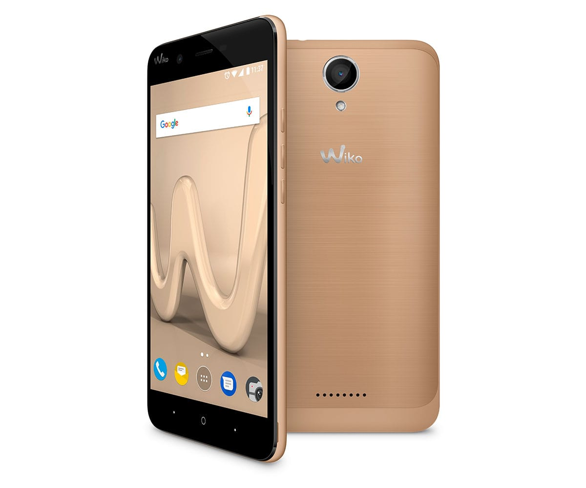 WIKO HARRY DORADO MÓVIL 4G DUAL SIM 5'' IPS HD/4CORE/16GB/3GB/13MP/5MP