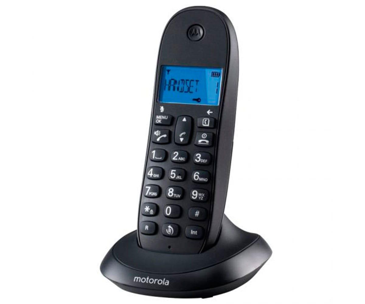 MOTOROLA C1001LB+ NEGRO TELÉFONO INALÁMBRICO