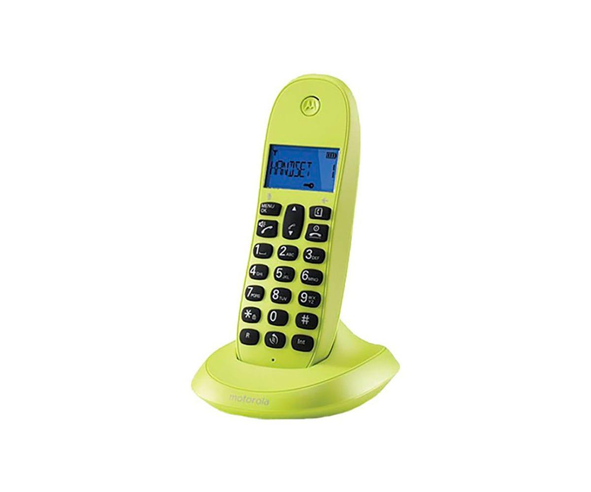 MOTOROLA C1001LB+ LIMA TELÉFONO INALÁMBRICO
