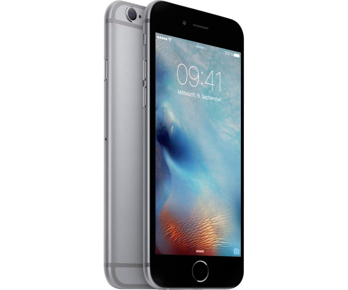 APPLE IPHONE 6 32GB GRIS ESPACIAL MÓVIL 4G 4.7 IPS/2CORE/32GB/1GB RAM/8MP/1.2MP - IPHONE 6 32GB GRIS ESPACIAL