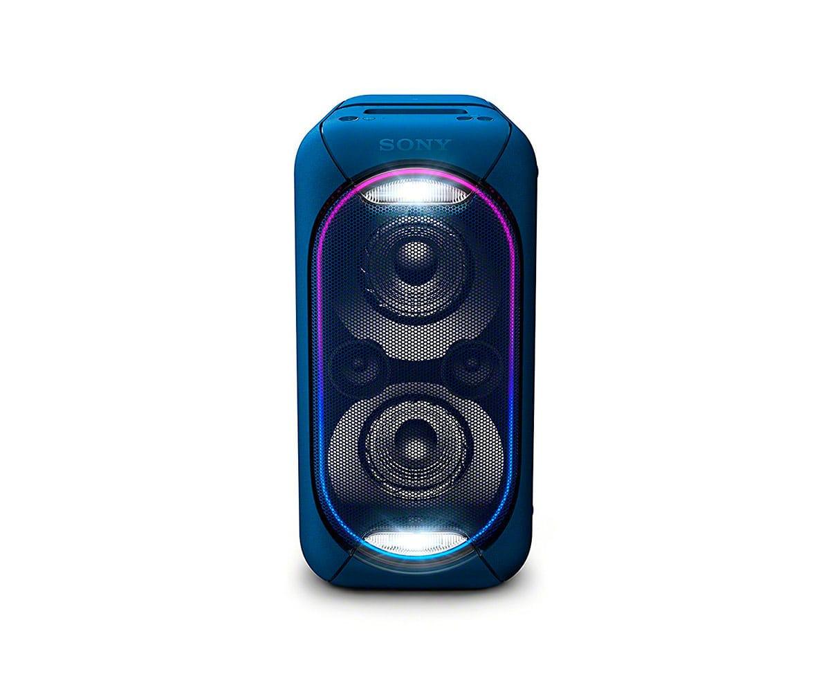SONY GTK-XB60L AZUL SISTEMA DE AUDIO EN CASA PORTÁTIL DE GRAN POTENCIA CON LUCES LED, BLUETOOTH Y NF