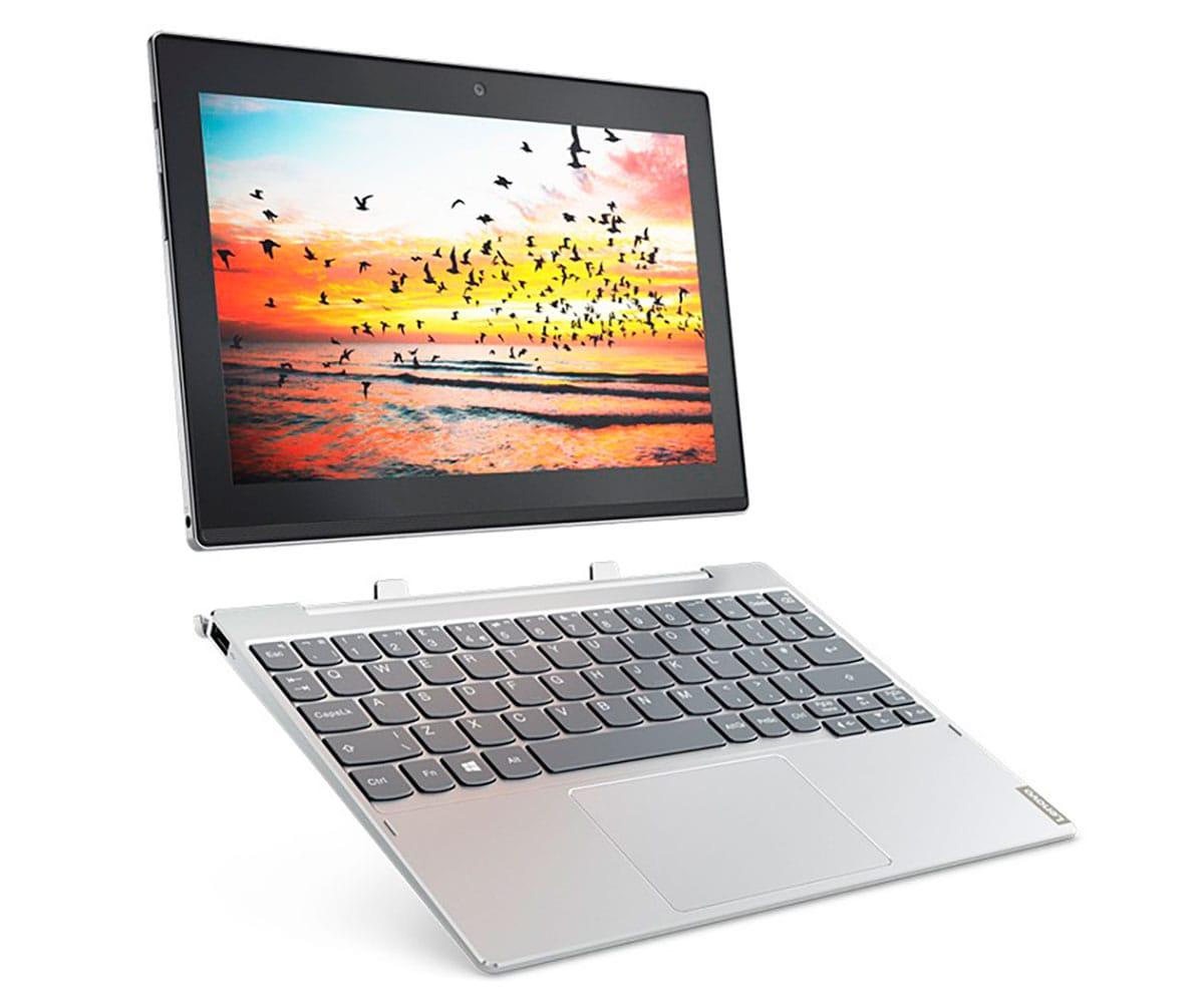 LENOVO MIIX 320-10ICR PLATA TABLET WIFI 10.1 IPS WUXGA/x5 1.44GHz/SSD 128GB/4GB RAM/W10 HOME -
