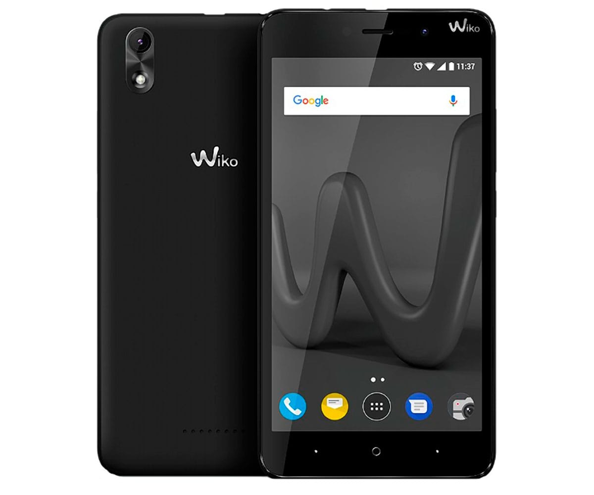 WIKO LENNY4 PLUS NEGRO MÓVIL 3G DUAL SIM 5.5'' IPS HD/4CORE/16GB/1GB RAM/8MP/5MP