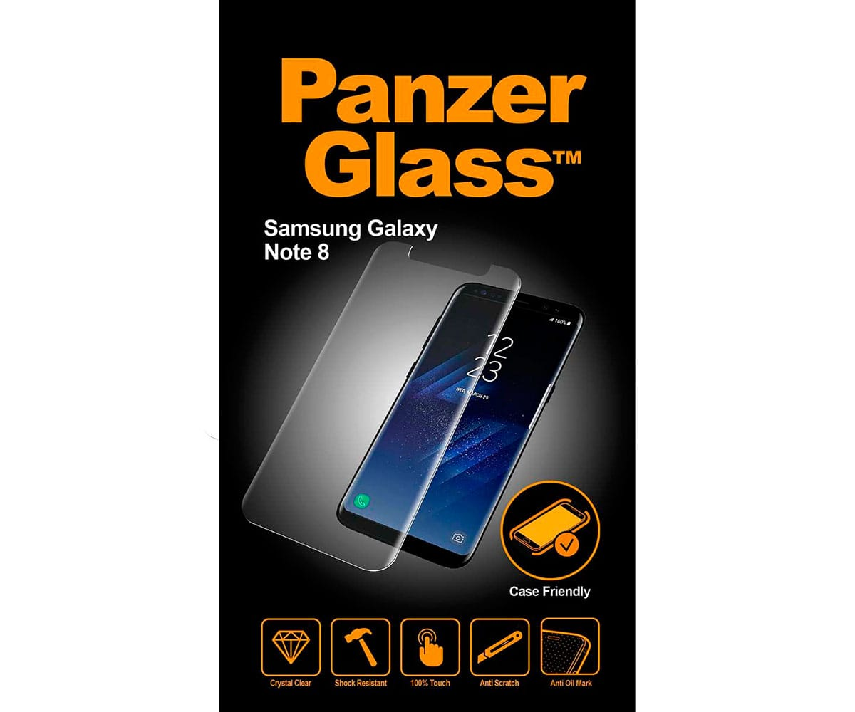 PANZERGLASS PROTECTOR CRISTAL ULTRARESISTENTE SAMSUNG GALAXY NOTE 8 - NOTE 8
