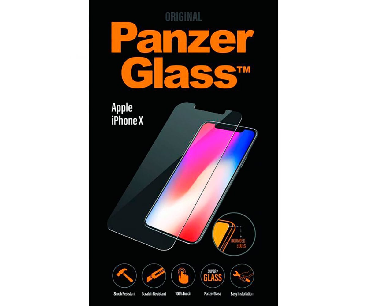 PANZERGLASS STANDARD FIT PROTECTOR CRISTAL ULTRARESISTENTE APPLE IPHONE X