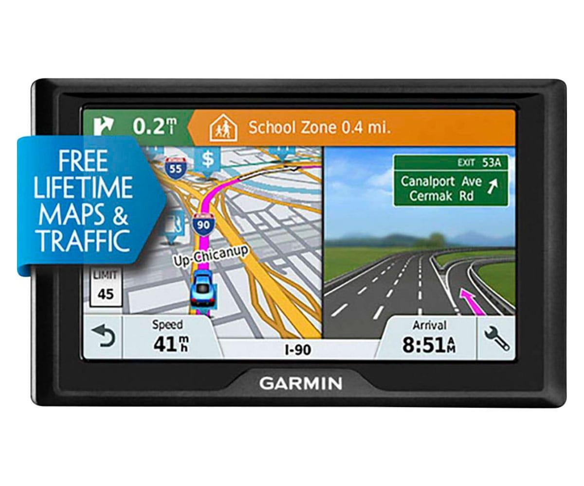 GARMIN DRIVE 51 EU LMT-S  GPS CON MAPAS PREINSTALDADOS DE EUROPA PANTALLA DE 5 ORIENTACIÓN DUAL MA -