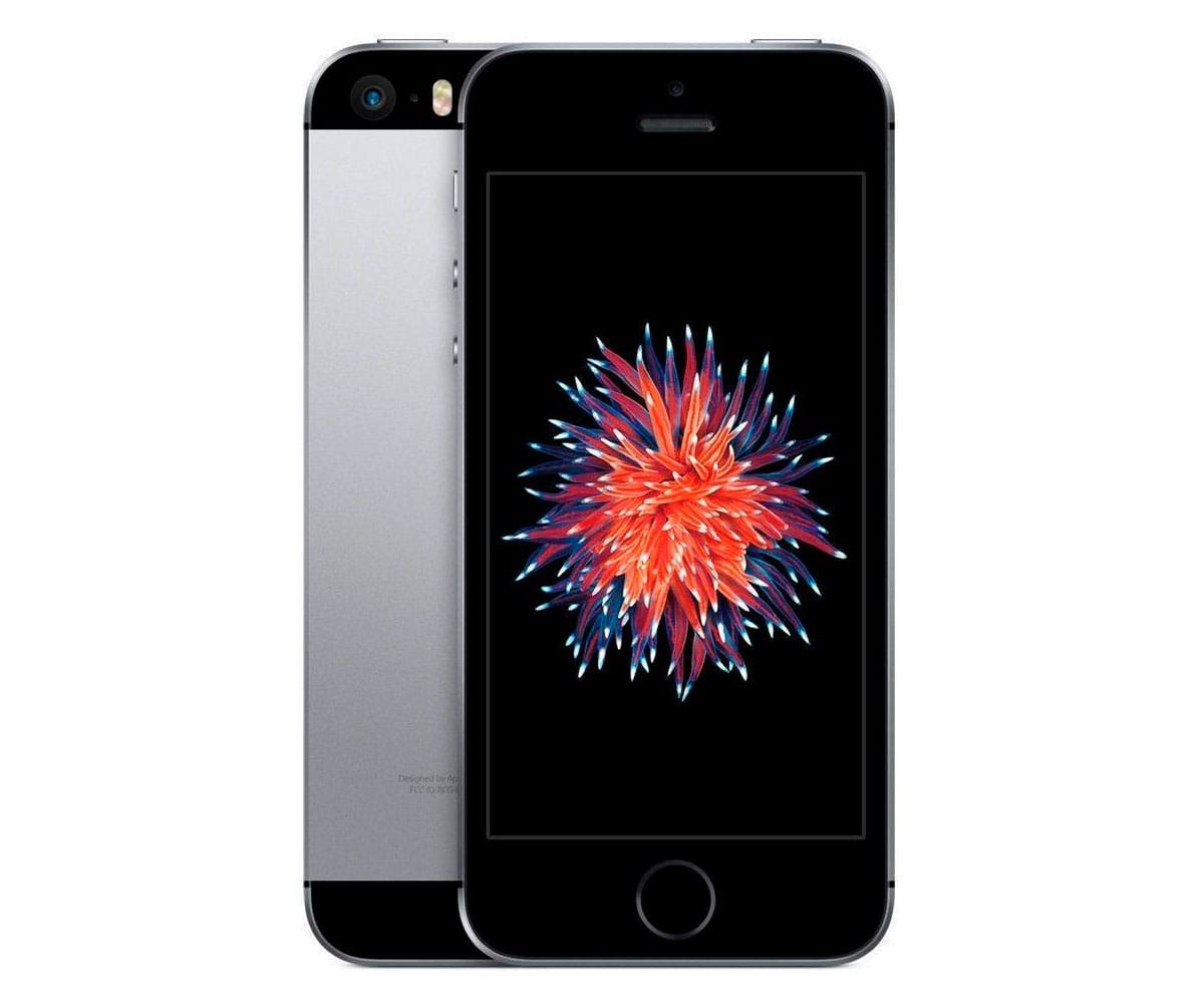 APPLE IPHONE SE 32GB GRIS ESPACIAL MÓVIL 4G 4 RETINA/2CORE/32GB/2GB RAM/12MP/1.2MP -