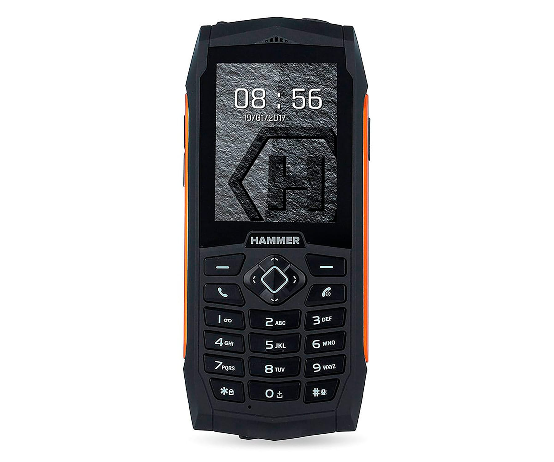 MYPHONE HAMMER 3 NEGRO NARANJA MÓVIL RESISTENTE IP68 DUAL SIM 2.4 TFT CÁMARA VGA BLUETOOTH RADIO F -