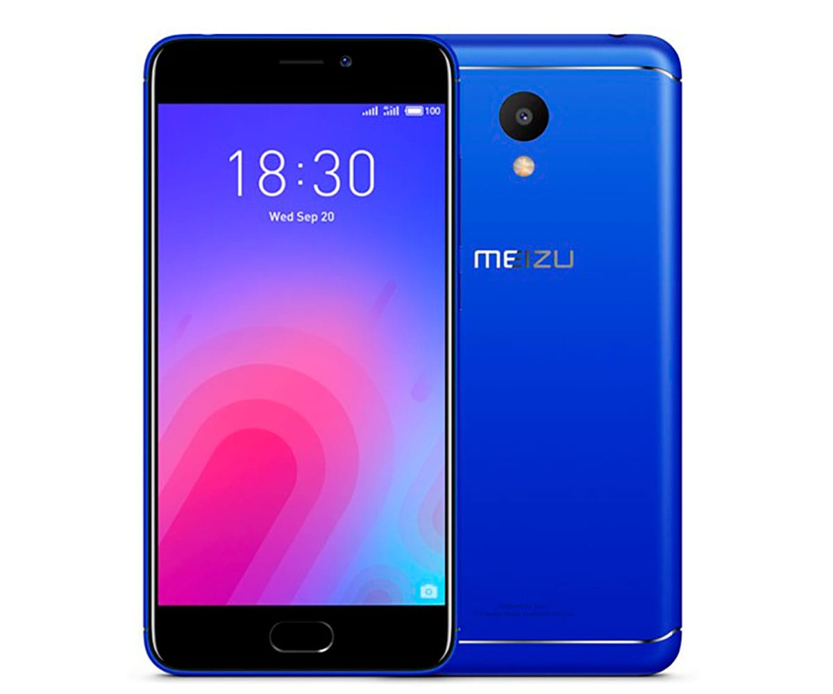 MEIZU M6 AZUL MÓVIL 4G DUAL SIM 5.2'' IPS HD/8CORE/32GB/3GB RAM/13MP/8MP