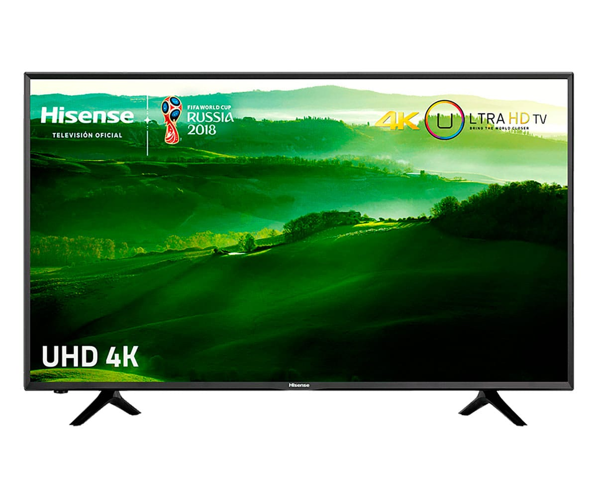 HISENSE H43N5300 TELEVISOR 43'' LCD DIRECT LED UHD 4K 1000Hz SMART TV WIFI LAN HDMI USB REPRODUCTOR MULTIMEDIA