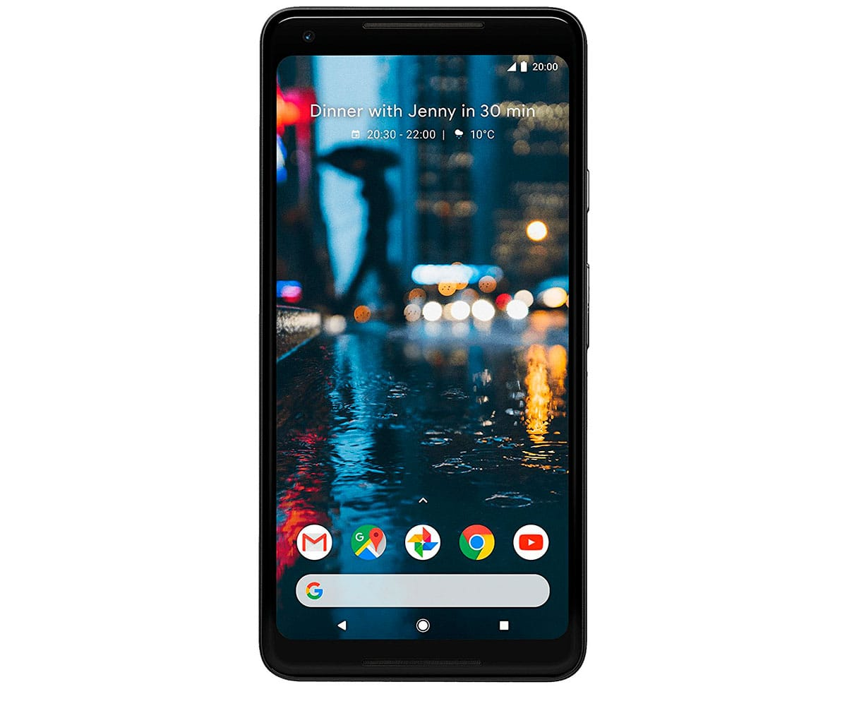 GOOGLE PIXEL 2 XL NEGRO MÓVIL 4G DUAL SIM 6'' POLED QHD+/8CORE/64GB/4GB RAM/12.2MP/8MP