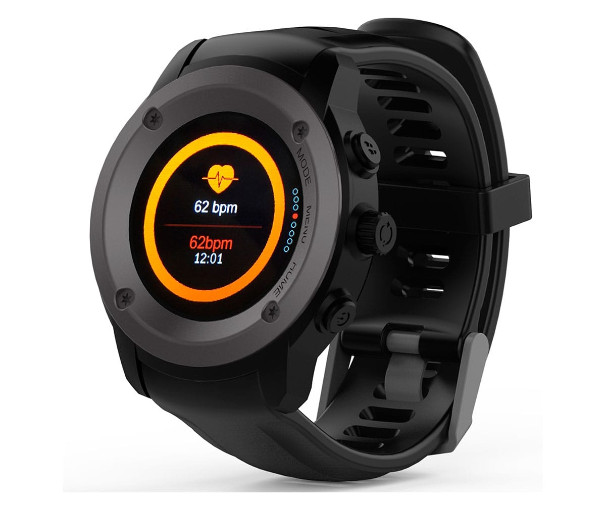 MAXCOM FW17 POWER NEGRO SMARTWATCH RELOJ MULTIDEPORTE CON GPS INCLUYE POWERBANK - FW17 POWER NEGRO
