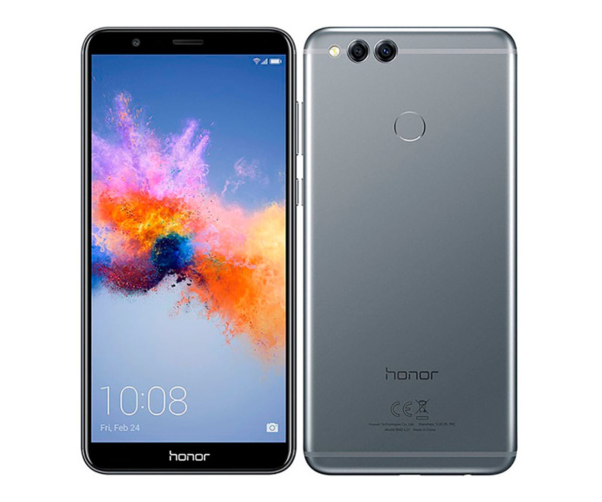 HONOR 7X GRIS MÓVIL 4G DUAL SIM 5.93'' IPS FHD+/8CORE/64GB/4GB RAM/16MP+2MP/8MP