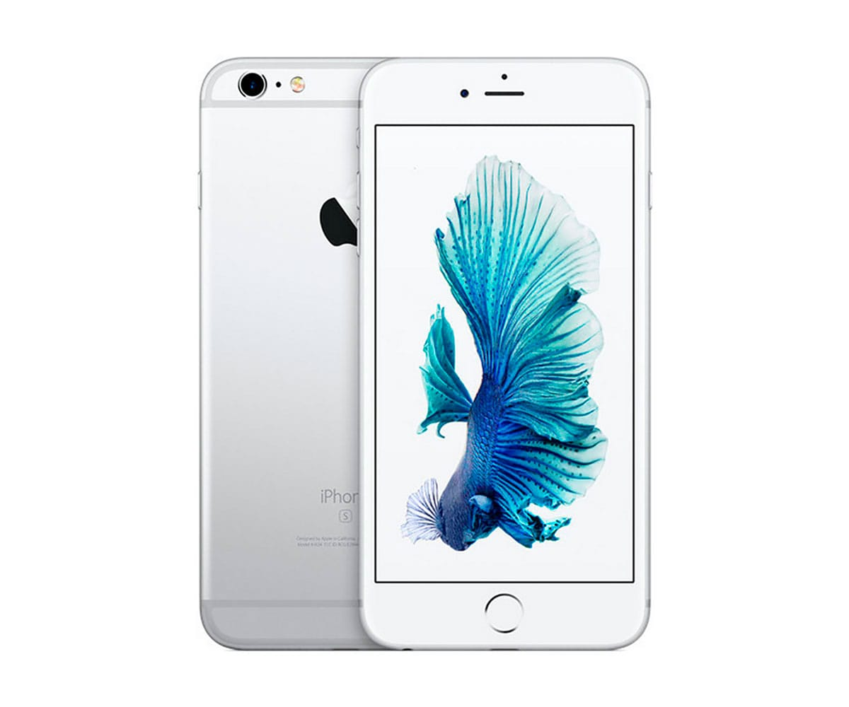 APPLE IPHONE 6S 128GB PLATA REACONDICIONADO CPO MÓVIL 4G 4.7 RETINA HD/2CORE/128GB/2GB RAM/12MP/5M