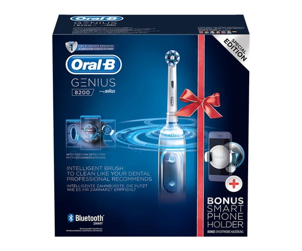 BRAUN ORAL-B PRO 8200 CROSS ACTION BLANCO CEPILLO DE DIENTES ELÉCTRICO CON BLUETOOTH