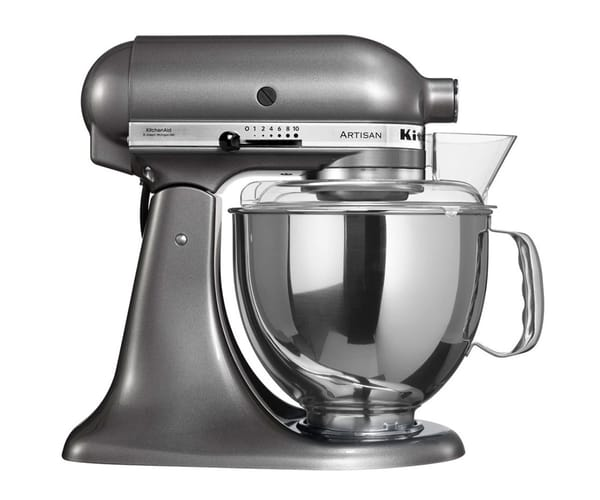 KITCHENAID 5KSM150 COLOR PLATA ROBOT DE COCINA