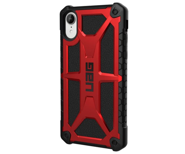URBAN ARMOR GEAR MONARCH CRIMSON CARCASA IPHONE XR RESISTENTE