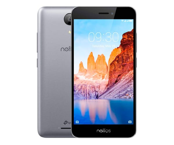TP-LINK NEFFOS C7A GRIS MÓVIL 4G DUAL SIM 5'' IPS HD/4CORE/16GB/2GB RAM/8MP/2MP