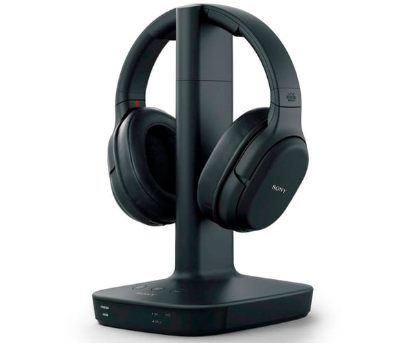 SONY WH-L600 NEGRO AURICULARES INALÁMBRICOS CON SURROUND DIGITAL 7.1 CINEMATOGRÁFICO 30 METROS