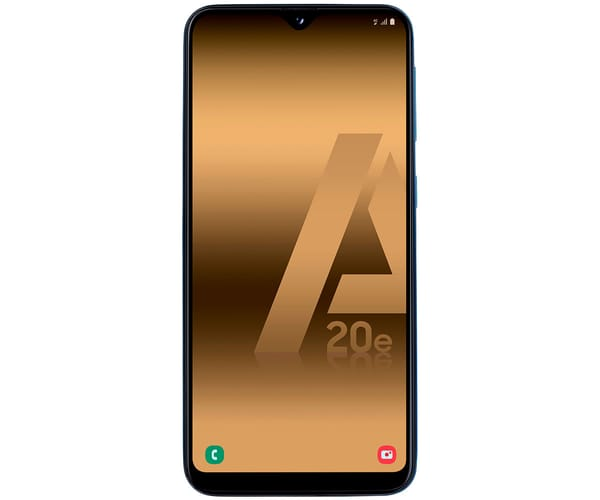 SAMSUNG GALAXY A20e AZUL MÓVIL 4G DUAL SIM 5.8'' PLS TFT LCD HD+/8CORE/32GB/3GB RAM/13MP+5MP/8MP