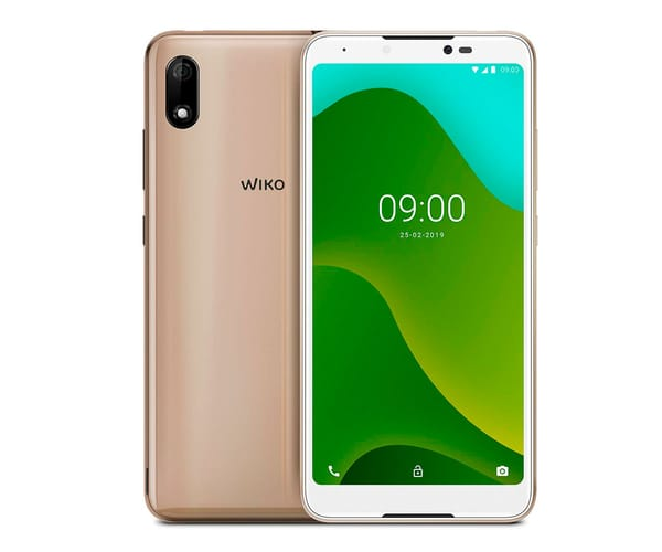 WIKO Y70 DORADO MÓVIL 3G DUAL SIM 5.99'' TFT HD+/4CORE/16GB/1GB RAM/8MP/5MP