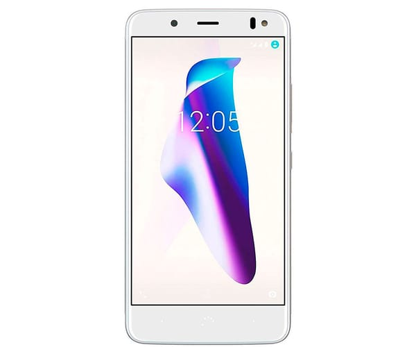 BQ AQUARIS VS BLANCO DORADO MÓVIL 4G 5.2'' IPS HD/8CORE/64GB/4GB RAM/12MP/8MP