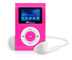 SPC 8544P SPORT CLIP REPRODUCTOR MP3 4GB ROSA