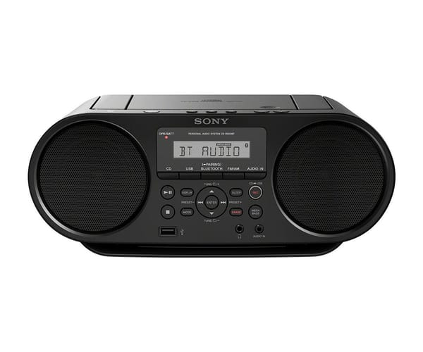 SONY ZSRS60BT RADIO CD BLUETOOTH