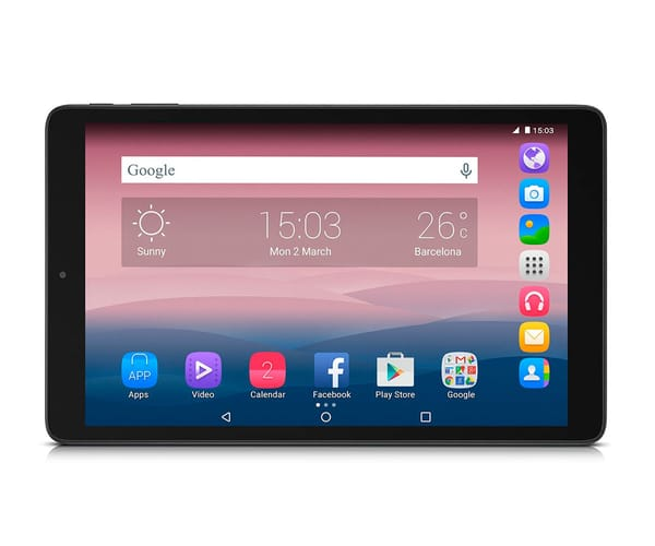 ALCATEL PIXI 3 (10) NEGRA TABLET 10.1''/4CORE/8GB/1GB RAM/2MP/VGA