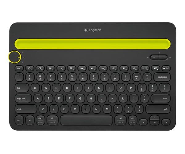 LOGITECH K480 NEGRO TECLADO BLUETOOTH MULTI-DISPOSITIVO