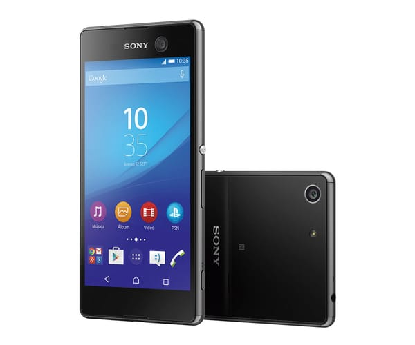 SONY XPERIA M5 NEGRO E5603 MÓVIL 4G 5''/8CORE/16GB/3GB RAM/21MP/13MP
