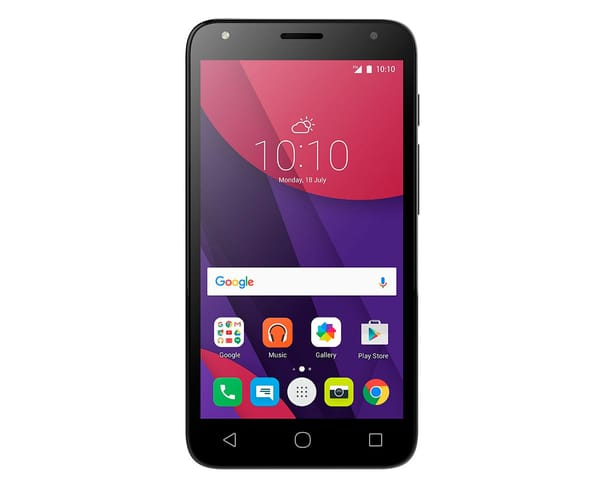ALCATEL PIXI 4 (5) NEGRO 5010D MÓVIL DUAL SIM 5''/4CORE/8GB/1GB RAM/8MP/5MP