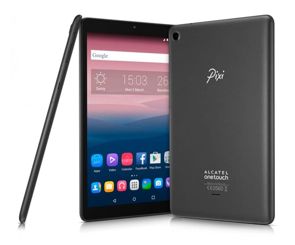 ALCATEL PIXI 3 (10) NEGRO TABLET 3G 10.1'' IPS HD/4CORE/8GB/1GB RAM/2MP/VGA