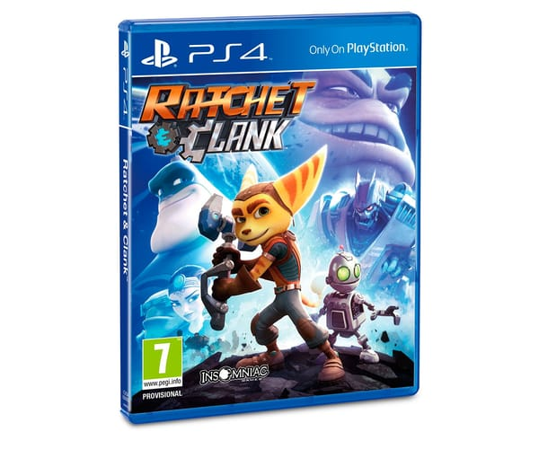 JUEGO RATCHET & CLANK (PS4)